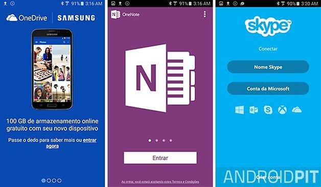 microsoft apps touchwiz galaxy s6