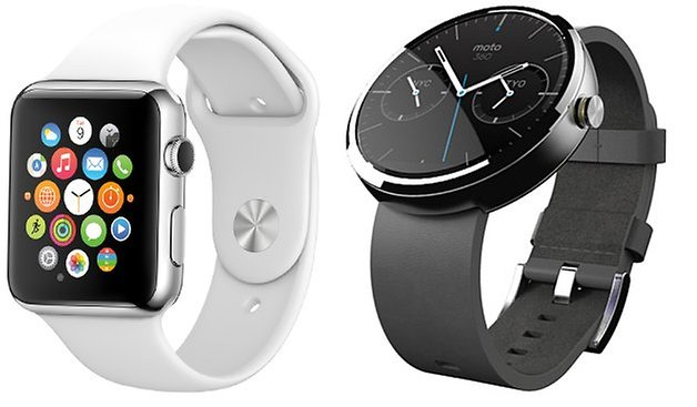 moto 360 APPLE WATCH