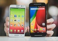 Moto G 2014 vs LG L90 - Comparación