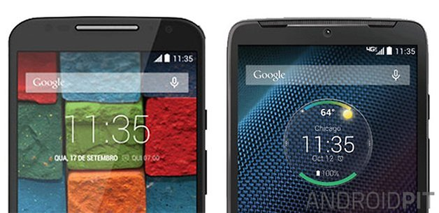moto x 2014 droid turbo comparison