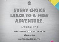 Motorola Brasil também vai lançar novos dispositivos no dia 4 de setembro