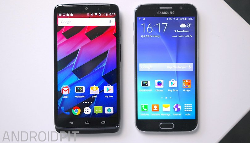 Samsung Galaxy S6 vs Moto Maxx - Dos smartphones. ¡Dos grandes experiencias!