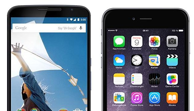 Nexus 6 vs. iPhone 6 Plus: na terra dos gigantes!
