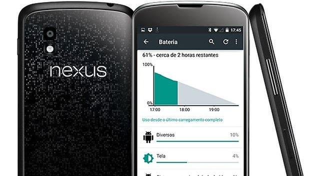 nexus4 android lollipop battery