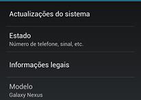 Google libera atualização Android 4.2 para o Galaxy Nexus HSPA+