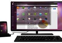 Ubuntu para Android demonstrado no Fórum Internacional Software Livre