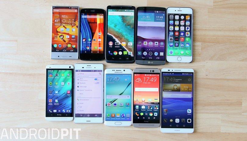 Entenda em 6 exemplos por que tela grande não significa necessariamente smartphone grande!
