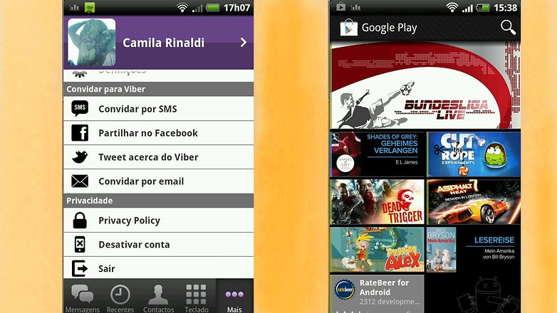 gingerbread play store viber