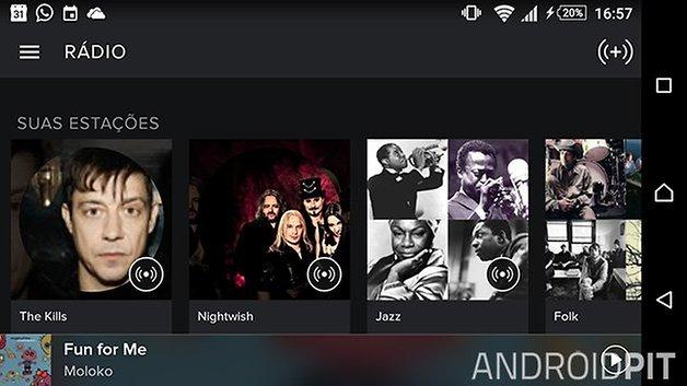 spotify radio melhores app radio