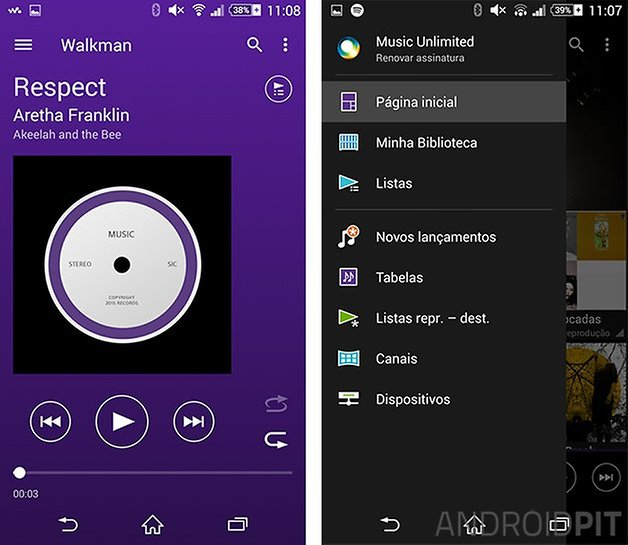 walkman sony material design