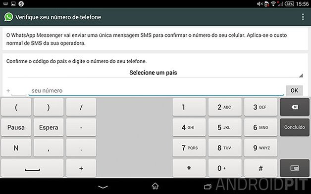 whatsapp tablet android 1