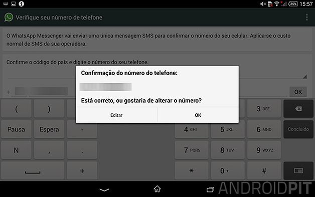 whatsapp tablet android 2