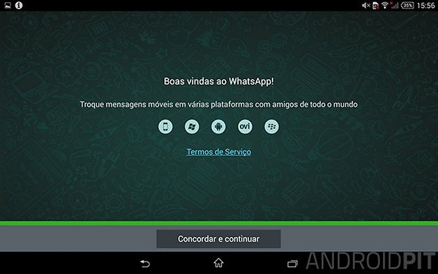 whatsapp tablet android 6