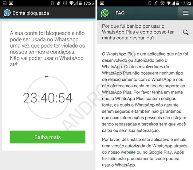 whatsapp whatsappplus bloqueo