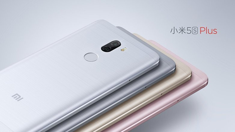 Mi 5s Plus colors