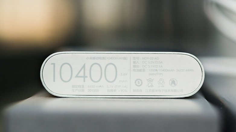 Xiaomi power bank 10400 baixo