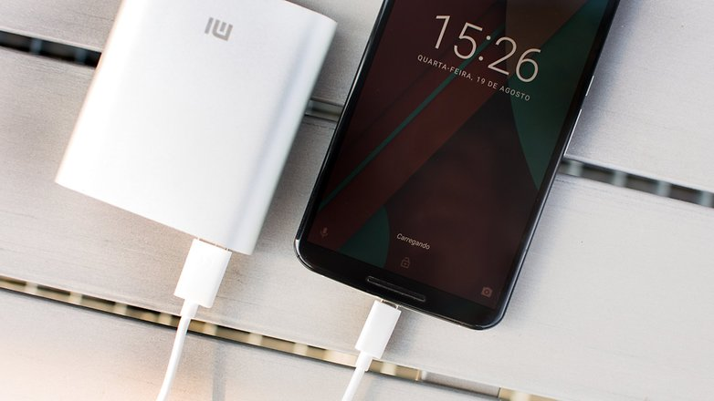 Xiaomi power bank 10400 carregando