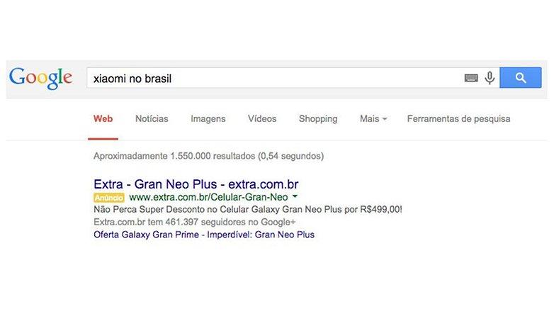 google busca xiaomi