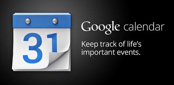 google calendar actualizacion