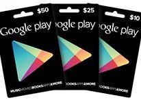 Las tarjetas regalo de Google Play Store llegan a Europa