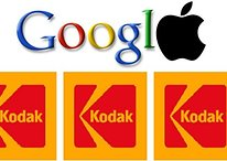 Apple y Google se unen para comprar las patentes de Kodak