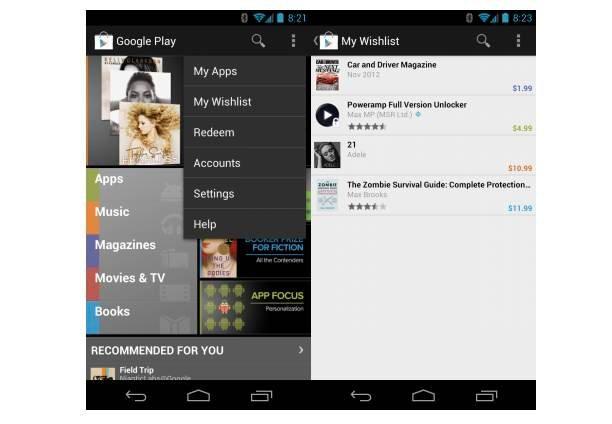 Novedades Google Play