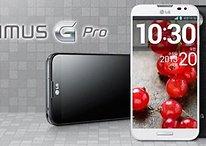 """LG Optimus G Pro - Anunciado con pantalla de 5,5"""" y cristal curvado"""