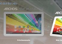 Nueva serie de tablets Platinum de Archos
