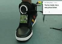 Lo último de Google: Unas zapatillas que hablan