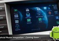 Toyota integra un sistema d'intrattenimento Android nella Lexus