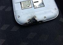 Samsung Galaxy S3 esploso: la causa un forno a microonde