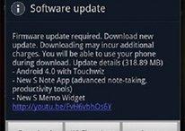 Disponibile l'aggiornamento a ICS per il Galaxy Note