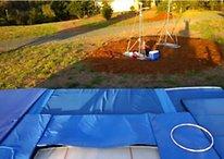 Video: Google Glasses passa il test del trampolino