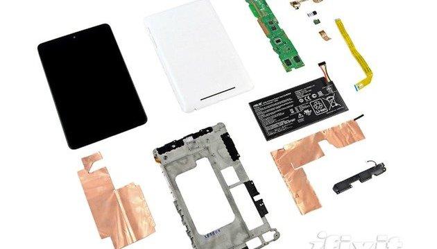 Ecco com'è un Nexus 7 visto dall'interno