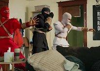 """Un video divertente: """"Nexus 7 Unboxing"""" o """"Le difficoltà di tre ninja"""""""