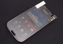 Trapelata pellicola protettiva del Samsung Galaxy S3, confronto con S2