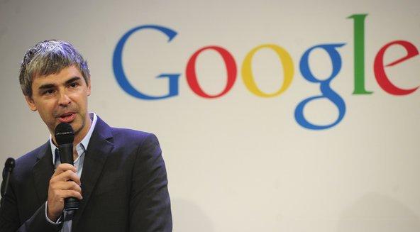 Larry Page a maggio