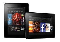 Amazon presenta i nuovi Kindle: e-reader e il Kindle Fire HD