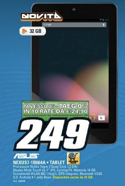nexus 32 gb 249 euro