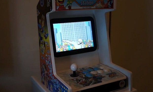 android arcade machine