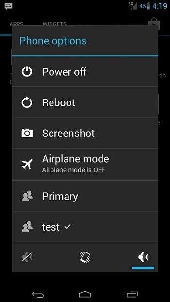 android multi-utente