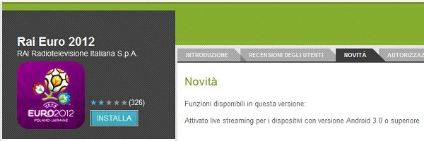 app rai streaming europei