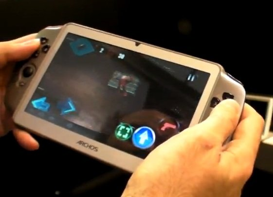 archos gampad video