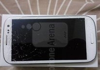 Galaxy S III: Gorilla Glass 2 a pezzettini