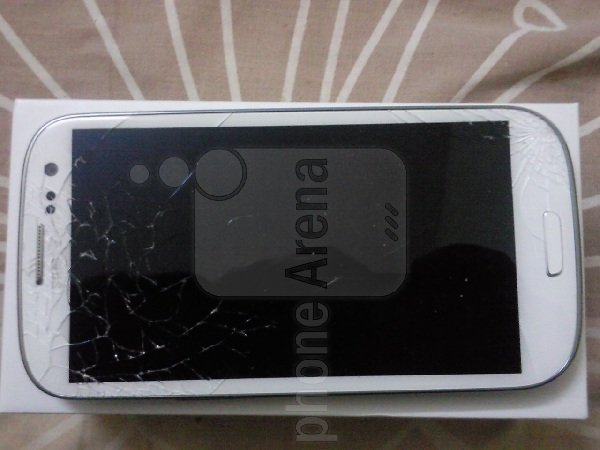 gorilla glass 2 rotto samsung galaxy s 3