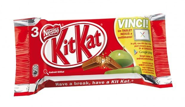 Android 44 KitKat concorso