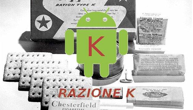 Android 5.0 direttamente da Gingerbread con Android K release