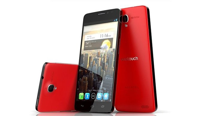 Alcatel One Touch Idol X e One Touch Scribe Easy, con e senza stylus