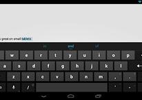La tastiera stock Android disponibile su Google Play