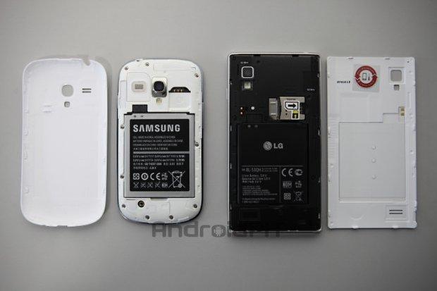 lg l9 s3mini batteria